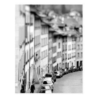 Europe, Switzerland, Bern. Old City buildings Postcard