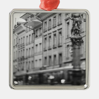 Europe, Switzerland, Bern. Tram, Marktgasse Christmas Ornament