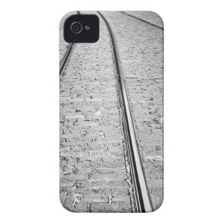 Europe, Switzerland, Bern. Tram tracks, Case-Mate iPhone 4 Cases