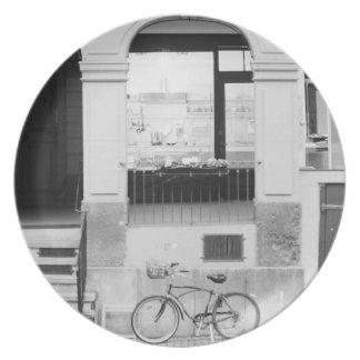 Europe, Switzerland, Berne. Kramgasse Building Plate