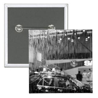 Europe, Switzerland, Geneva. Geneva Motor Show; 15 Cm Square Badge