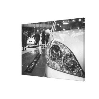 Europe, Switzerland, Geneva. Geneva Motor Show; 2 Gallery Wrapped Canvas