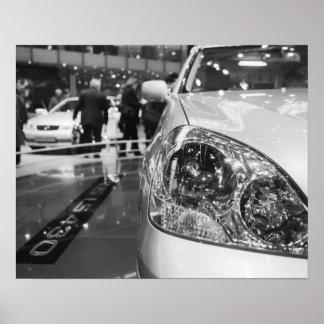 Europe, Switzerland, Geneva. Geneva Motor Show; 2 Poster
