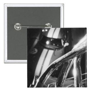 Europe, Switzerland, Geneva. Geneva Motor Show; 4 15 Cm Square Badge