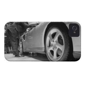 Europe, Switzerland, Geneva. Geneva Motor Show; 5 iPhone 4 Case