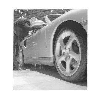 Europe, Switzerland, Geneva. Geneva Motor Show; 5 Notepad