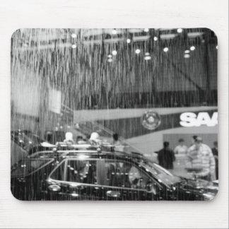 Europe, Switzerland, Geneva. Geneva Motor Show; Mouse Pad