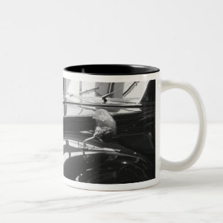 Europe, Switzerland, Lucerne. 1938 Czech Tatra Two-Tone Coffee Mug