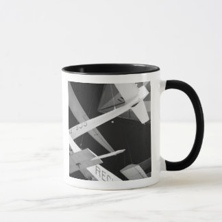 Europe, Switzerland, Lucerne. Aerial glider Mug