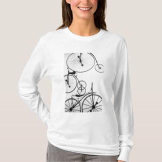 Europe, Switzerland, Lucerne. Bicycle display, T-Shirt