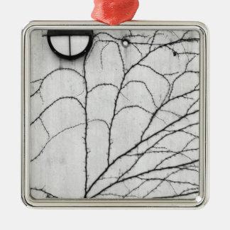 Europe, Switzerland, Lucerne. Ivy pattern on Christmas Ornament
