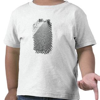 Europe Switzerland Zurich Cobbled street T-shirt