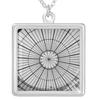 Europe, Switzerland, Zurich. Glass dome of the Silver Plated Necklace