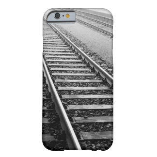 Europe, Switzerland, Zurich. Train tracks Barely There iPhone 6 Case