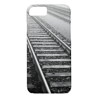 Europe, Switzerland, Zurich. Train tracks iPhone 8/7 Case