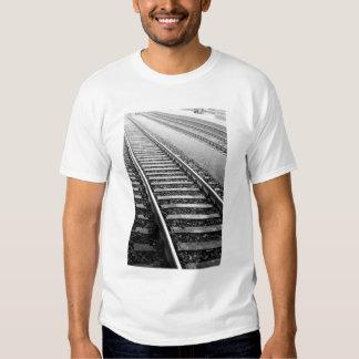 Europe, Switzerland, Zurich. Train tracks Shirts