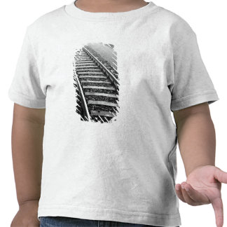 Europe, Switzerland, Zurich. Train tracks Tee Shirts