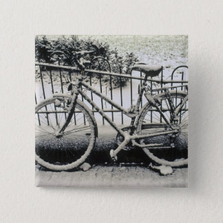 Europe, The Netherlands, Amsterdam. A 15 Cm Square Badge