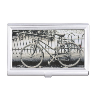 Europe, The Netherlands, Amsterdam. A Business Card Holder