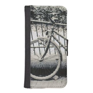 Europe, The Netherlands, Amsterdam. A iPhone SE/5/5s Wallet Case