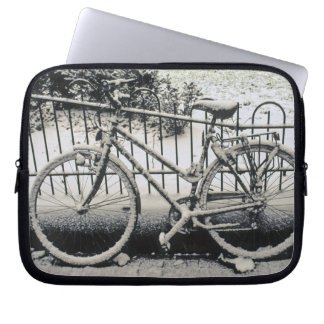 Europe, The Netherlands, Amsterdam. A Laptop Sleeve