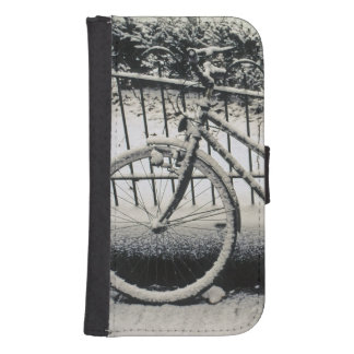 Europe, The Netherlands, Amsterdam. A Samsung S4 Wallet Case