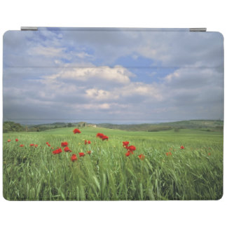 Europe, Tuscany, Poggiolo. Red poppies sway iPad Cover