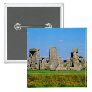 Europe, United Kingdom, England, Wiltshire, 15 Cm Square Badge