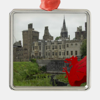 Europe, Wales, Cardiff. Cardiff Castle. Welsh 2 Christmas Ornament