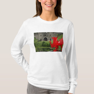 Europe, Wales, Cardiff. Cardiff Castle. Welsh T-Shirt