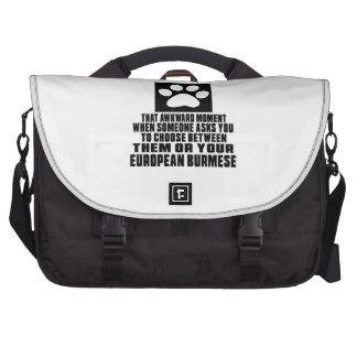 EUROPEAN BURMESE  AWKWARD DESIGNS BAGS FOR LAPTOP