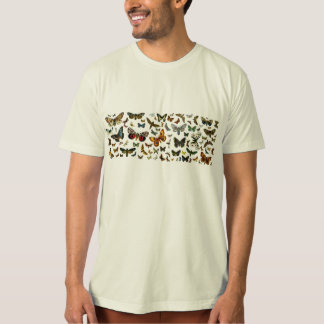 European Butterfly Collage T-Shirt