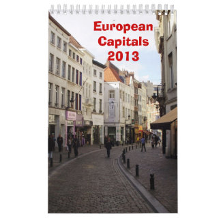 European Capitals - 2013 Wall Calendars