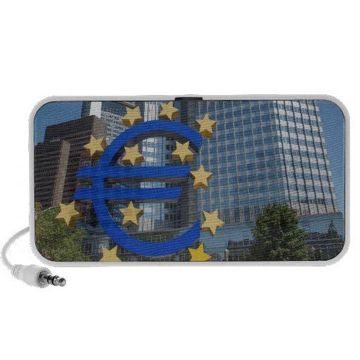 European Central Bank in Frankfurt Travelling Speaker