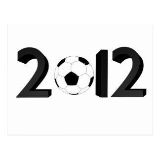 European Championship 2012 Postcard