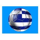 European Cup 2012 - Greece Soccer Football flag Postcard