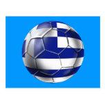 European Cup 2012 - Greece Soccer Football flag Postcards
