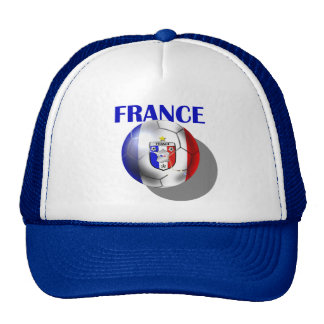 European - Euro 2012 French Fans France ball Mesh Hat