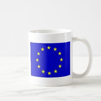 European Flag Basic White Mug