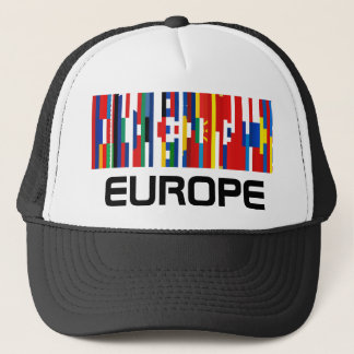 European Flag Strips Hat