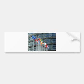 European Flags Bumper Sticker
