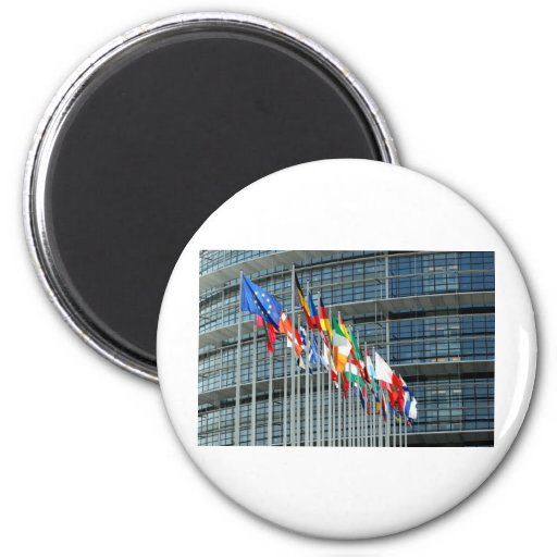 European Flags Fridge Magnet