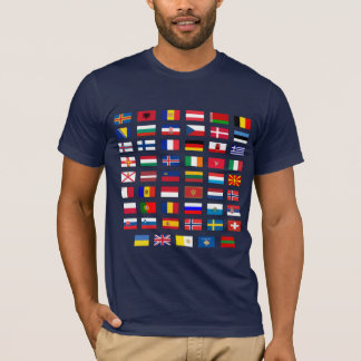 European Flags T-Shirt