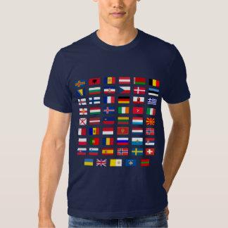 European Flags Tees