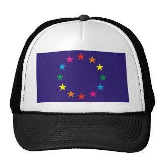 European Gay Pride Flag Cap