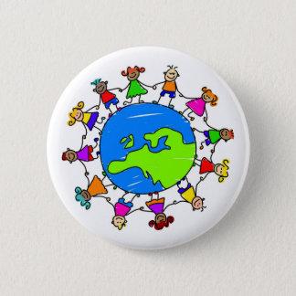 European Kids 6 Cm Round Badge