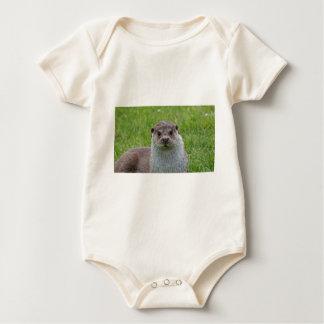 European Otter Baby Bodysuit