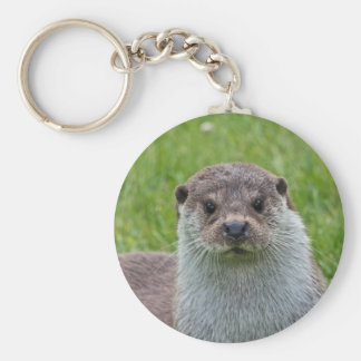 European Otter Key Ring
