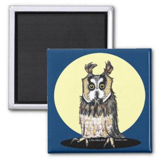 European Owl Magnet