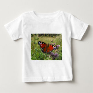 European Peacock Butterfly Baby T-Shirt